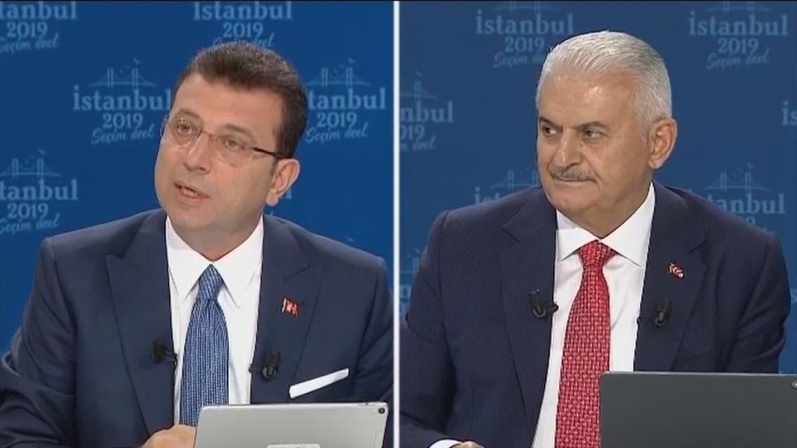 مناظرة بين المرشحين لرئاسة بلدية إسطنبول