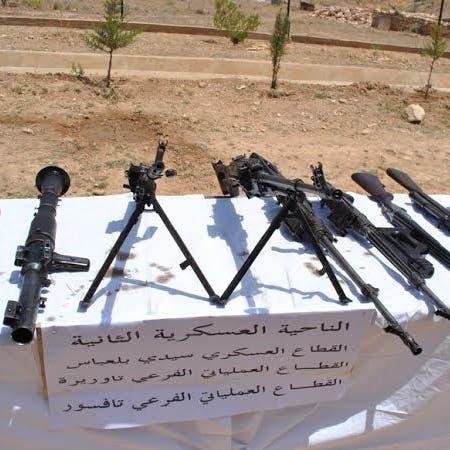 الجزائر.. الجيش يكشف مخابئ أسلحة لجماعات إرهابية