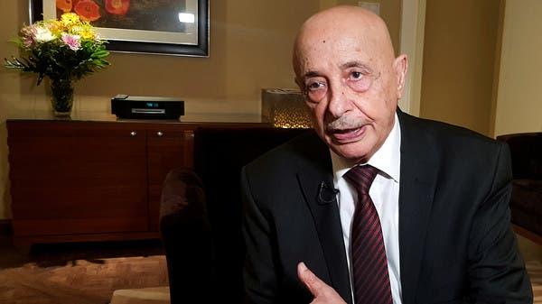 """عقيلة صالح: """"من المستحيل"""" تنظيم لقاء بين حفتر والسراج"""