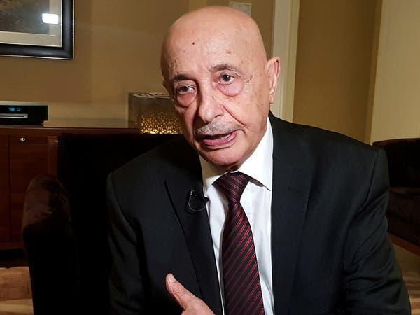 عقيلة صالح:  نطالب بسحب الاعتراف الأممي من حكومة السراج
