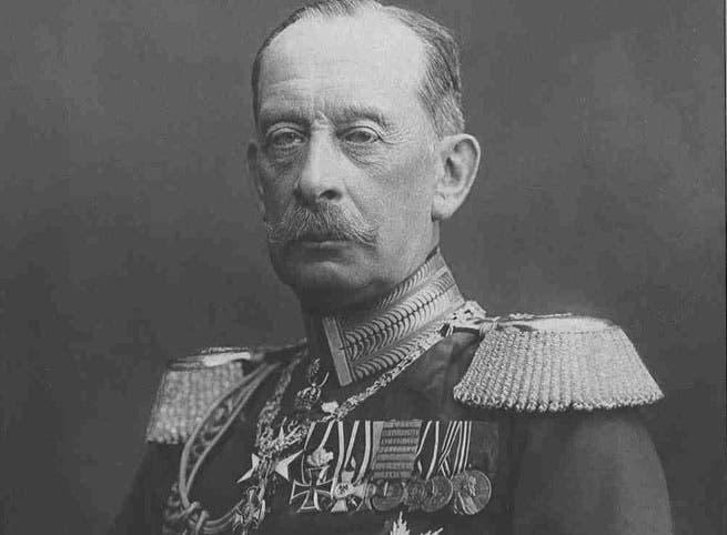 المارشال الألماني ألفرد فون شليفن