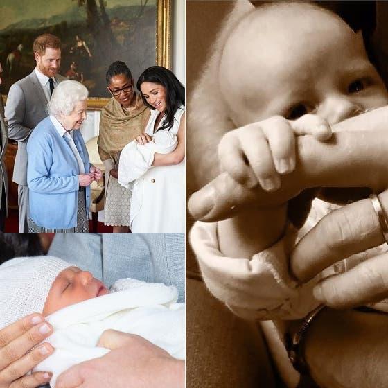 ابن الأمير هاري يظهر بعيد الأب في صورة واضحة لأول مرة