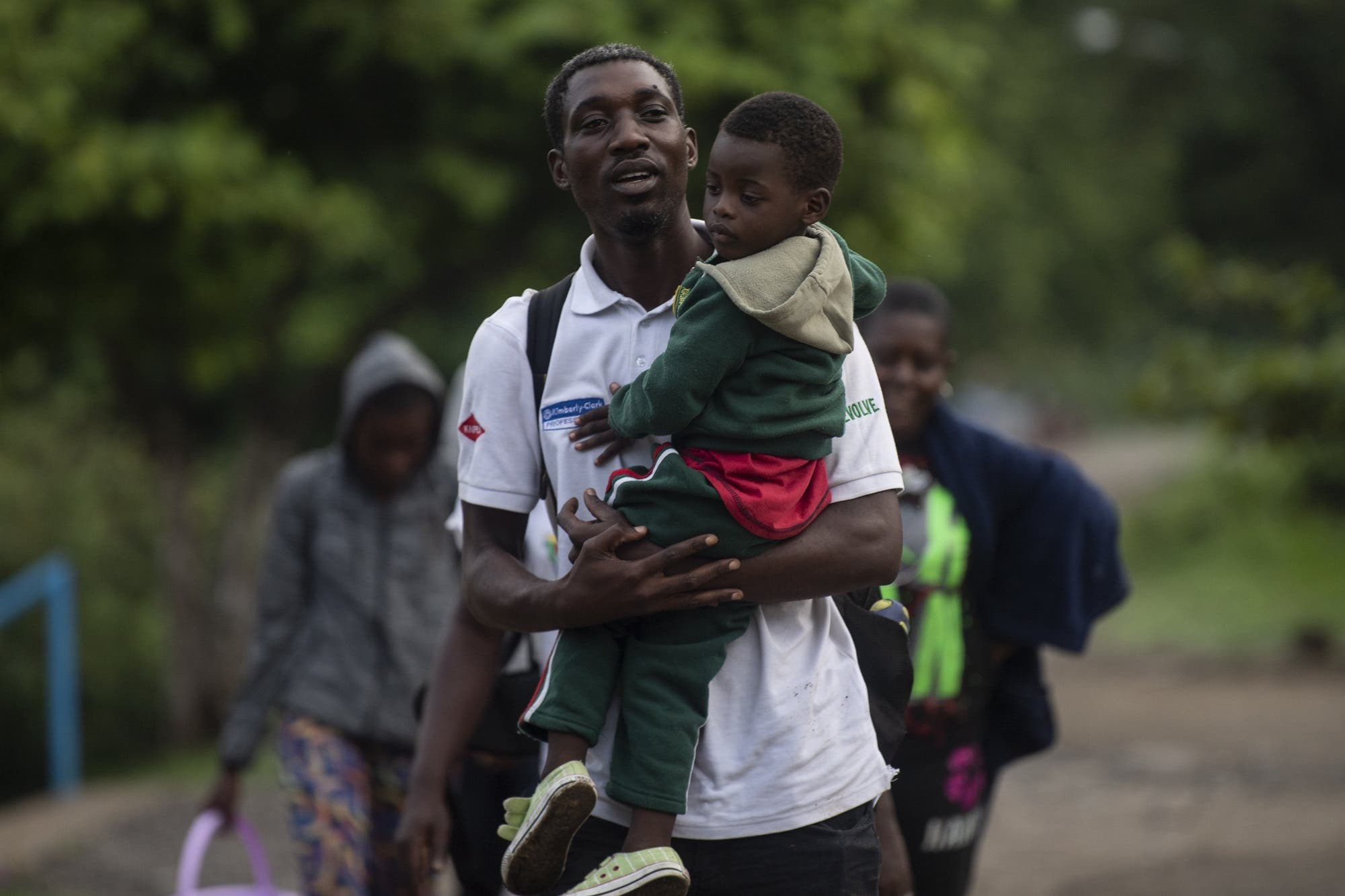 African migrants in Mexico - AFP
