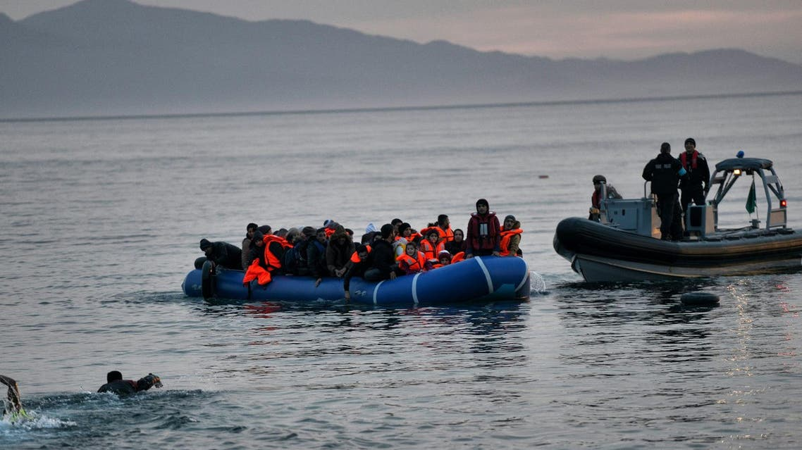 Turkey - migrant boat - AFP