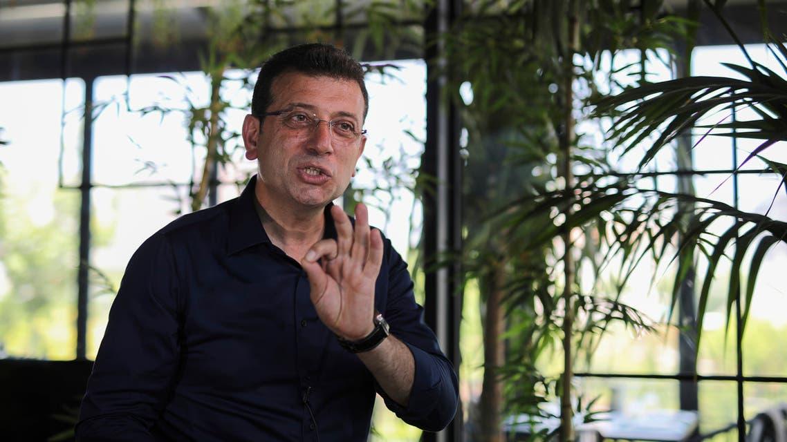 مرشح حزب الشعب الجمهوري المعارض أكرم إمام أوغلو