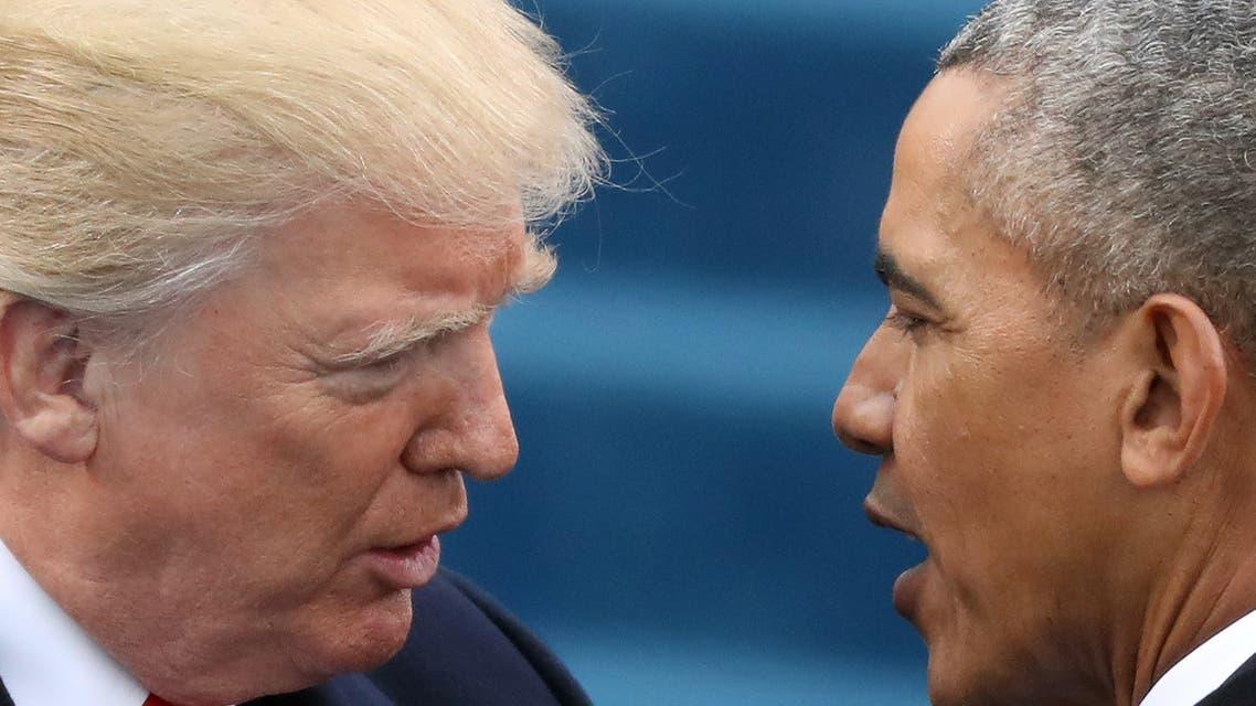 أوباما وترمب