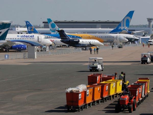 """""""بوينغ"""" و""""إيرباص"""" وجهاً لوجه في معرض باريس للطيران"""