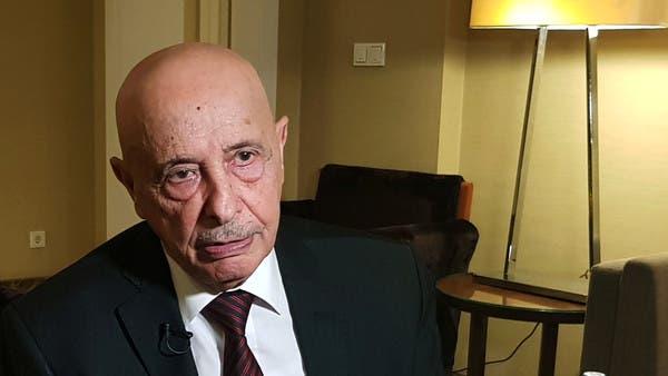 عقيلة صالح: تركيا جزء من المشكلة وليست جزءاً من الحل بليبيا