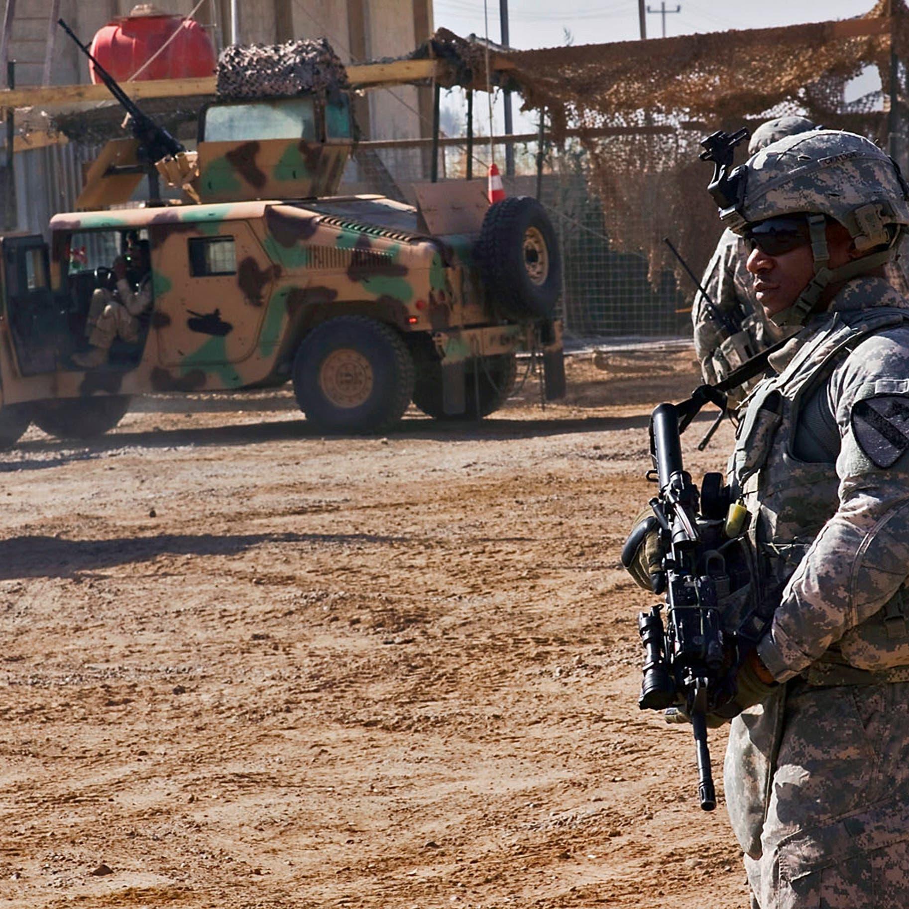 الجيش العراقي يعلن استهداف معسكر التاجي بصاروخين