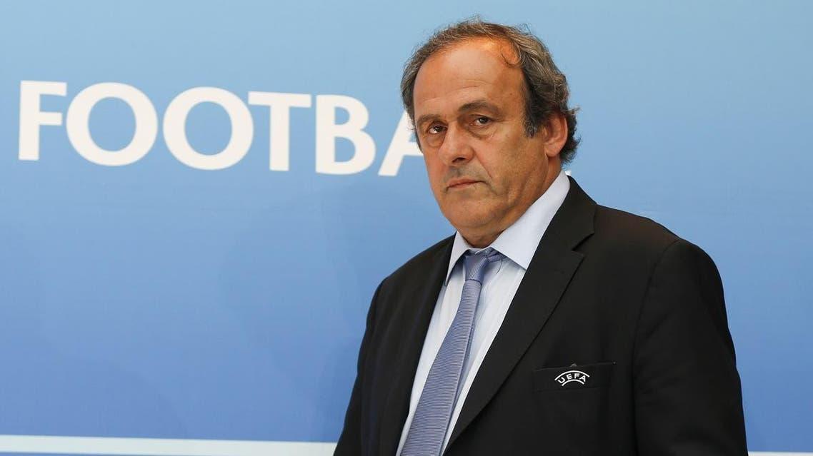 Michel Platini, the former head of European football association UEFA. (AFP)