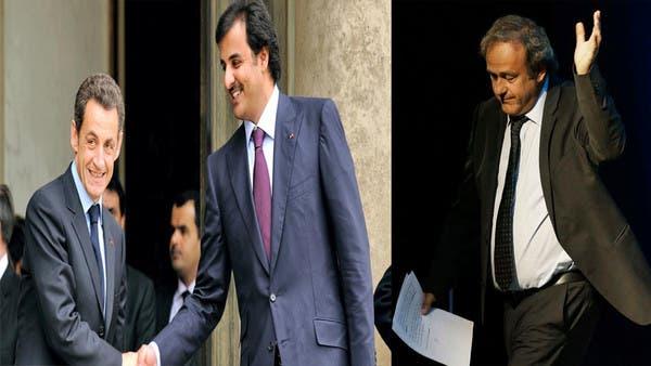 مأدبة غداء مع أمير قطر تورط بلاتيني وتضعه في قبضة الشرطة
