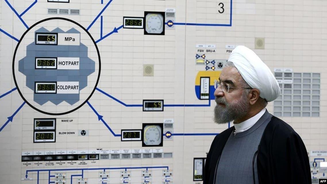 روحاني يزور منشأة نووية (أرشيفية)