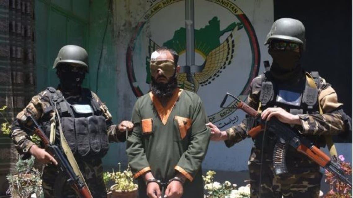 بازداشت یک ملا امام بدلیل اطلاعرسانی برای طالبان در غزنی افغانستان