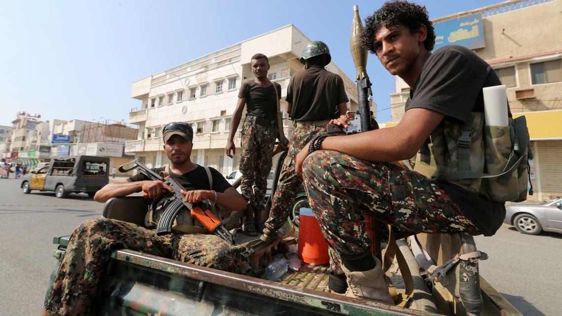 Houthi in Hodeidah عناصر من ميليشيا الحوثي في الحديدة