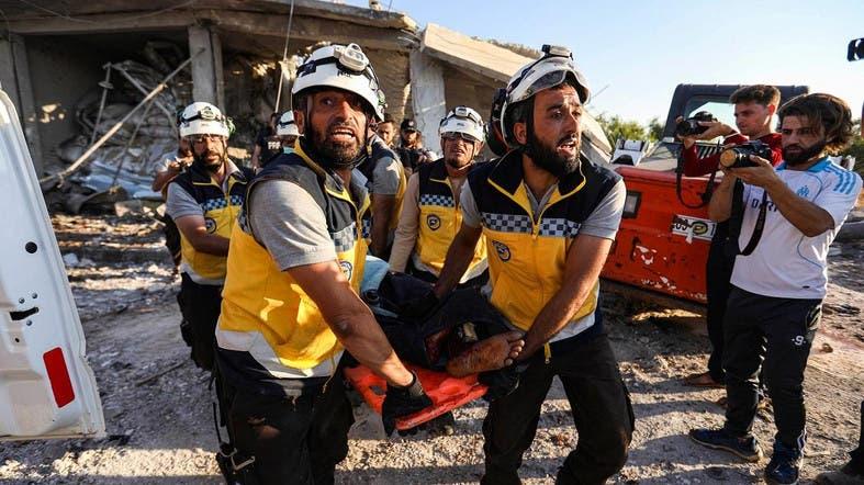 Regime attacks kill 25 in Syria's Idlib: Monitor - Al Arabiya English
