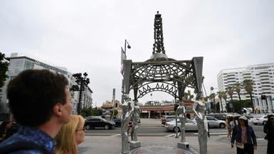 """تمثال مارلين مونرو بوقفتها الشهيرة """"مسروق"""""""