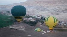 Egypt: 11 tourists safe after hot air balloon incident