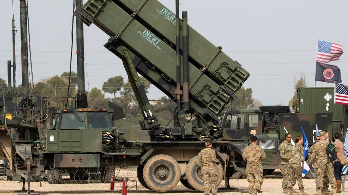 US Patriot missile defence system. (AFP)