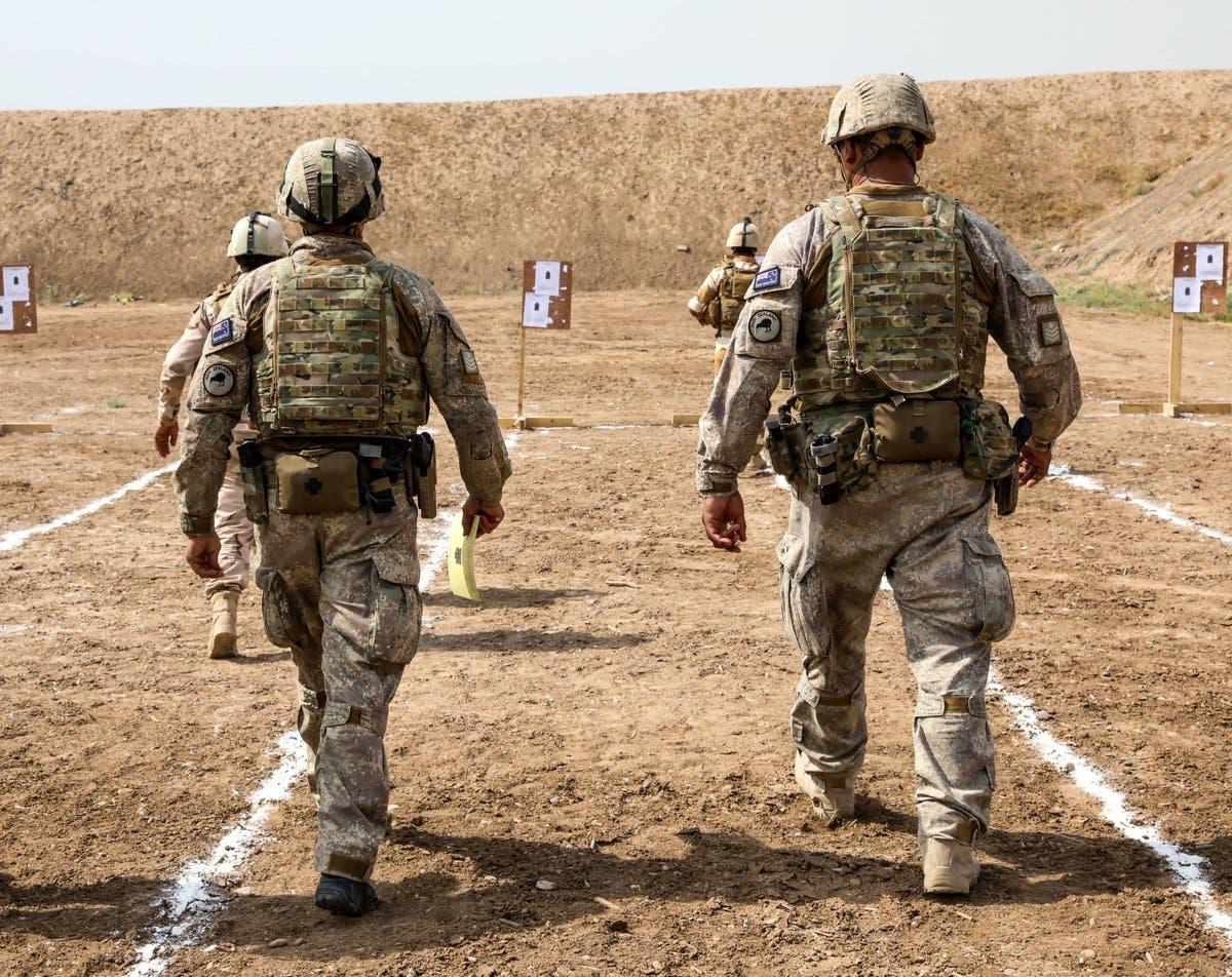 عناصر من القوات الأميركية في العراق