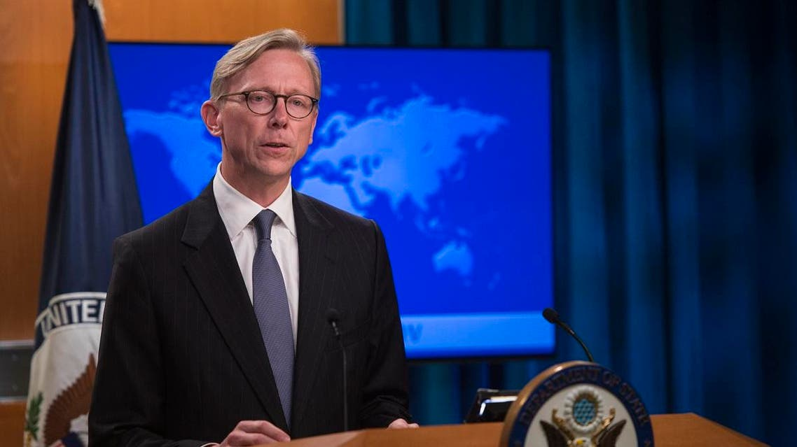 US envoy to Iran Brian Hook. (AFP)