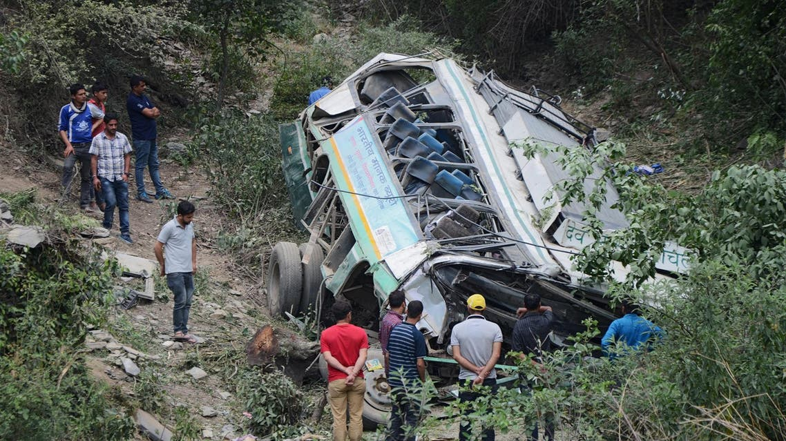 In India, an average of 150,000 people die in road accidents each year.