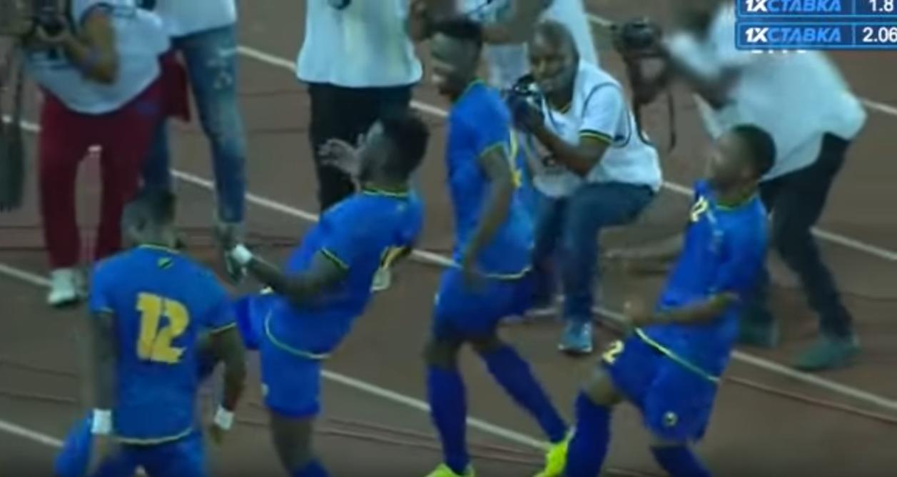 فرحة منتخب تنزانيا بعد التأهل إلى أمم إفريقيا