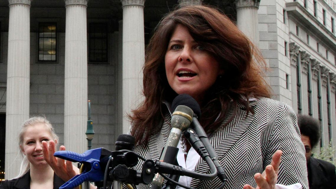 Author and political consultant Naomi Wolf speaks during a news conference in New York on March 29, 2012. (AP)