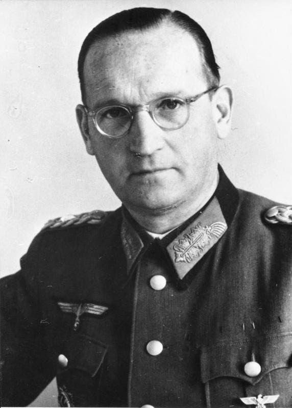 صورة للجنرال هانس شبايدل