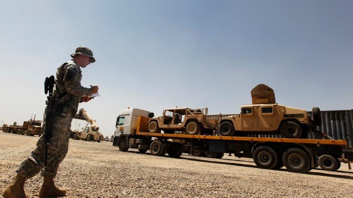 رویترز: با افزایش تهدیدها پیمانکاران نظامی آمریکایی از عراق خارج میشوند