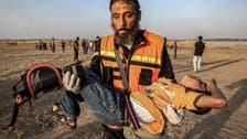 غزہ میں احتجاجی ریلیوں پر اسرائیلی فائرنگ سے 80 فلسطینی زخمی