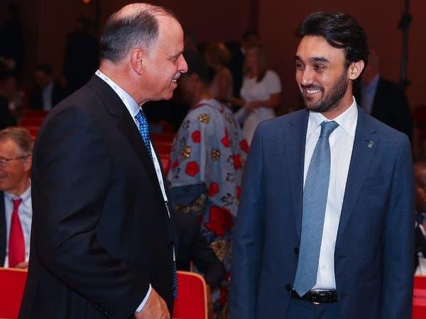 """عبدالعزيز بن تركي الفيصل يحضر حفل """"الأولمبية الدولية"""""""