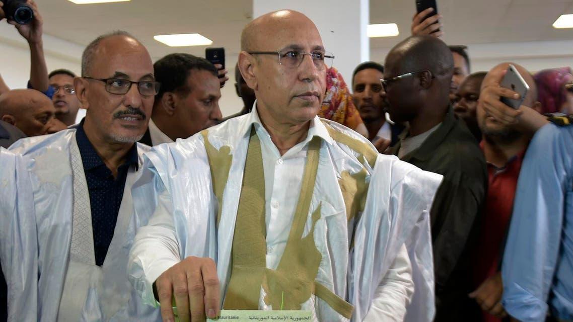 Mohamed Ould Ghazouani - AFP