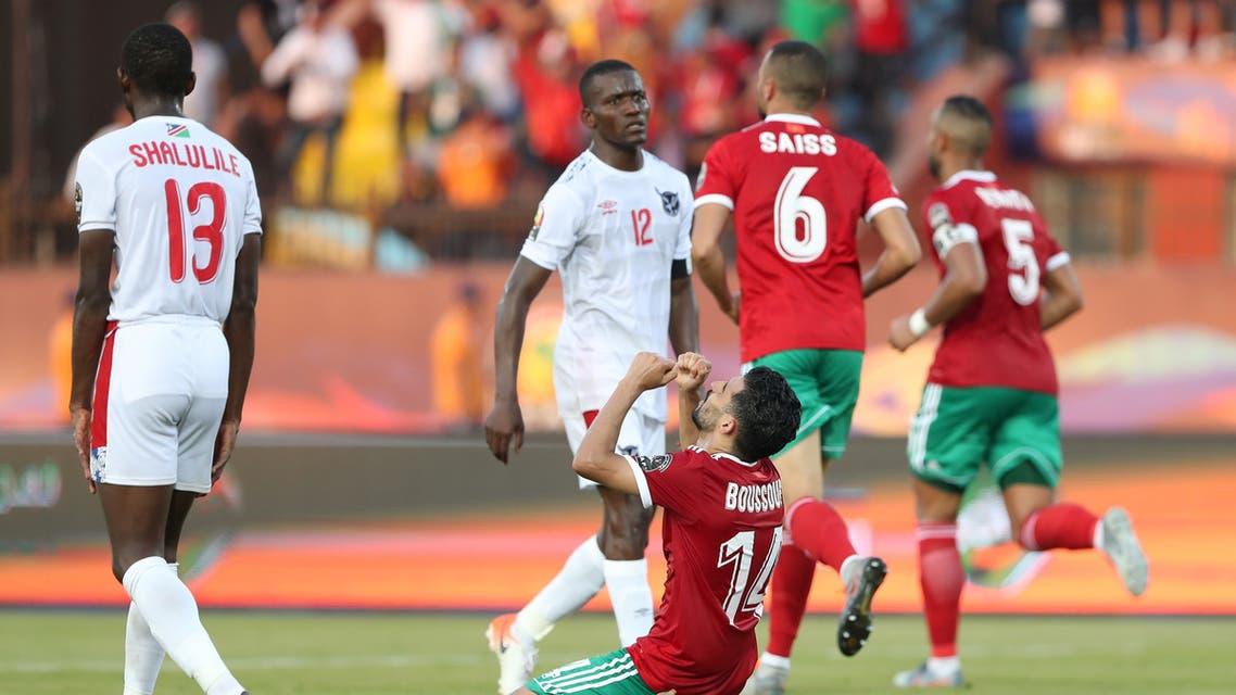 مبارك بوصوفة المغرب ناميبيا
