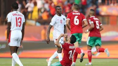 """""""النيران الصديقة"""" تمنح المغرب فوزه الأول في كأس إفريقيا"""