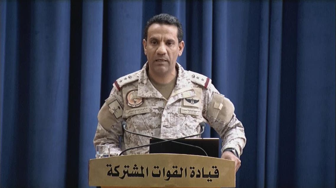the official spokesperson of the Arab Coalition Turki al-Maliki