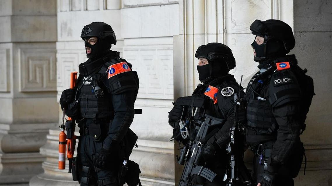 brussels police (File photo: AFP)