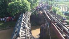Bridge collapse sends Bangladesh train plunging, killing four
