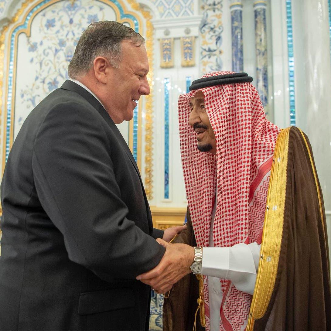 استعداداً لردع إيران.. بومبيو يصل السعودية