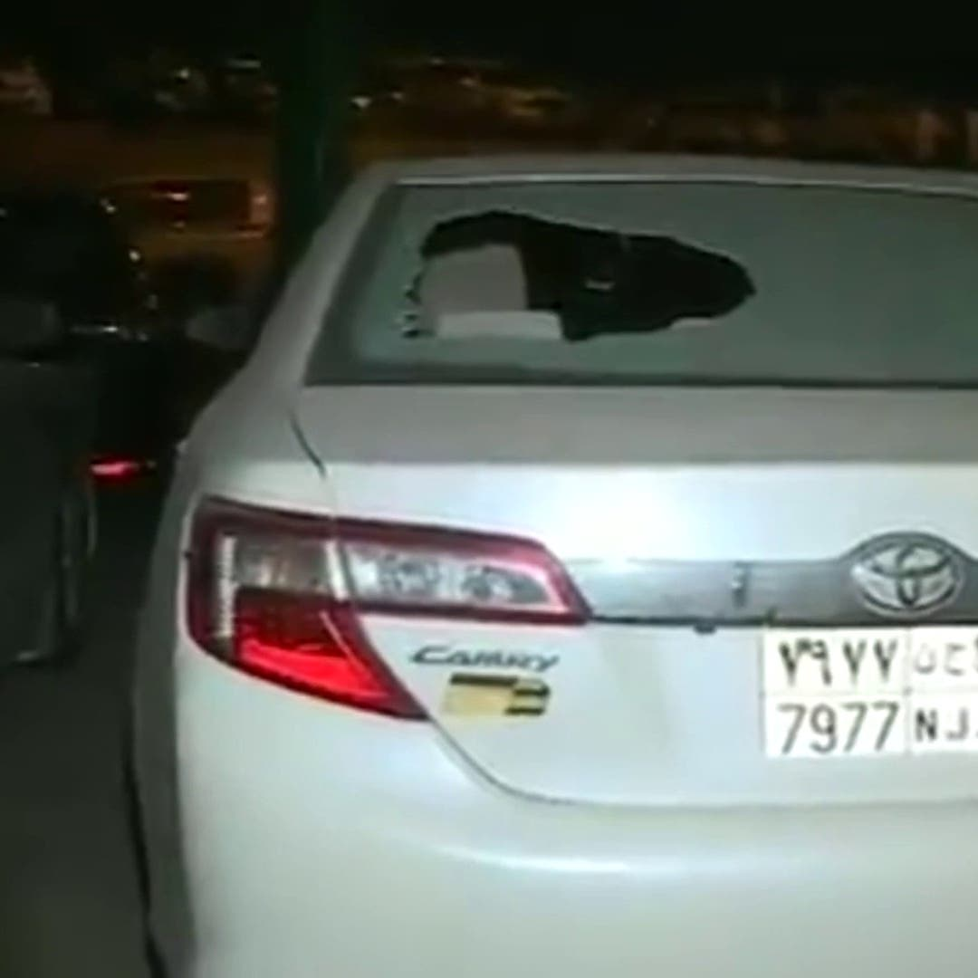 شاهد الصور الأولى للهجوم الإرهابي الحوثي على مطار أبها