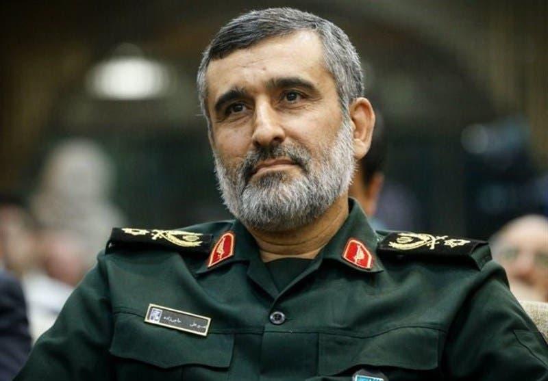أمير علي حاجي زادة قائد القوة الجوفضائية التابعة للحرس الثوري