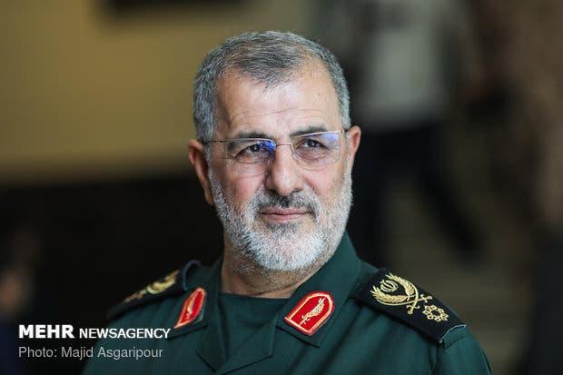 محمد باك بور قائد القوة البرية للحرس الثوري الإيراني