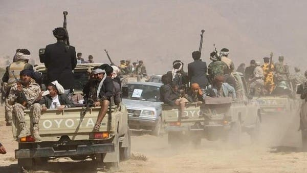 """""""العربية"""" تكشف.. مشاهد حربية مفبركة بتوقيع حوثي"""