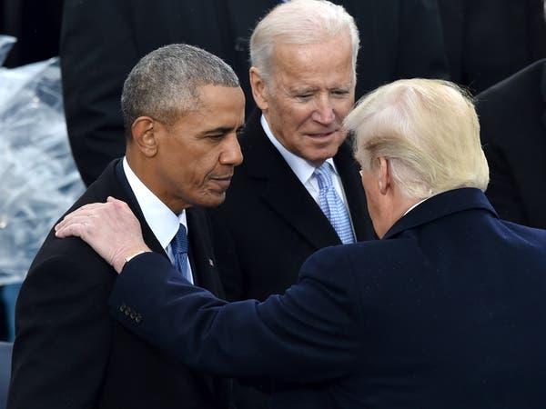 ترمب يتهم بايدن بالكذب حول عدم تأييد أوباما لترشحه
