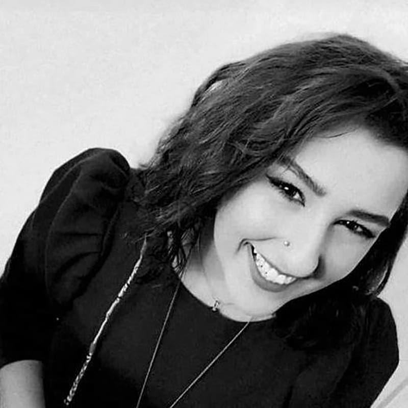 غنوة الجردي - مديرة مشروع نساء في المقدِّمة