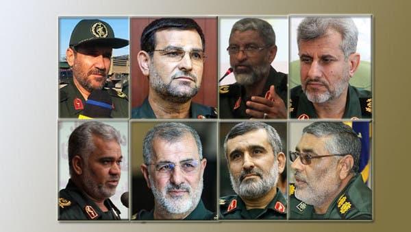 من هم قادة الحرس الثوري الـ 8 الذين شملتهم عقوبات ترمب؟