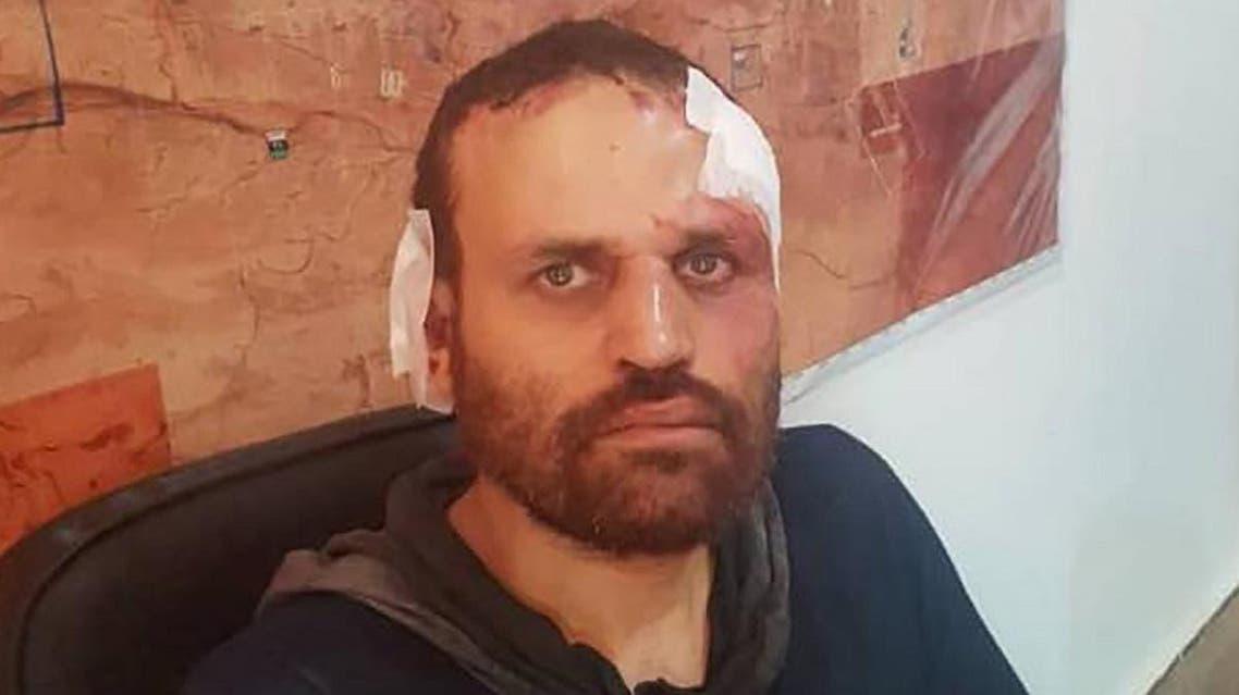 Egyptian extremist leader Hisham el-Ashmawy after being arrested in the Libyan city of Derna in October 2018. (AFP)