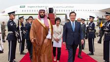 سعودی ولی عہد جنوبی کوریا کے تاریخی دورے پر سیول پہنچ گئے