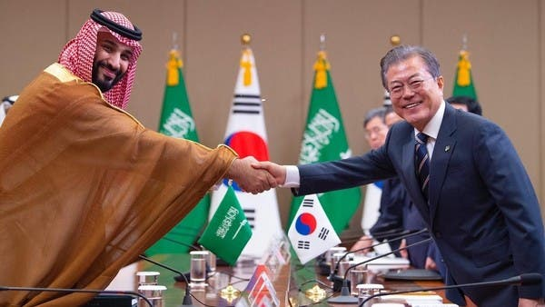 ولي العهد السعودي يدشن توسعة مصفاة إس أويل بتكلفة 6 مليارات دولار في كوريا الجنوبية