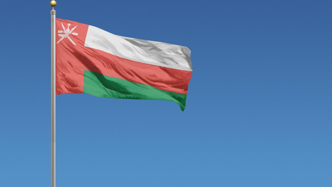 Flag of Oman - Stock image