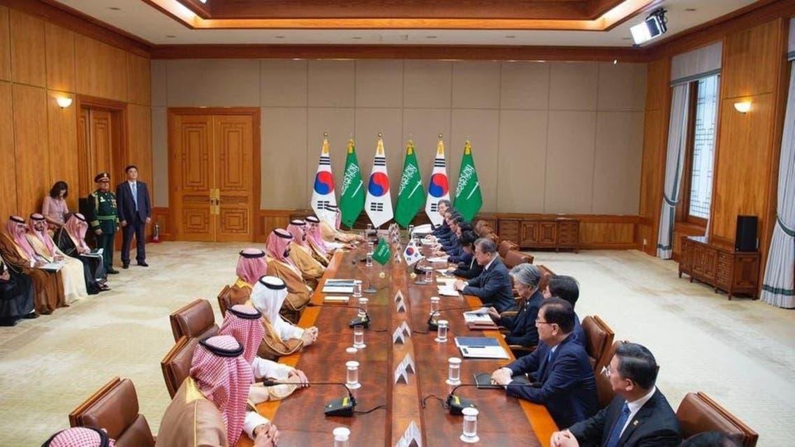KSA and South Korea agreements